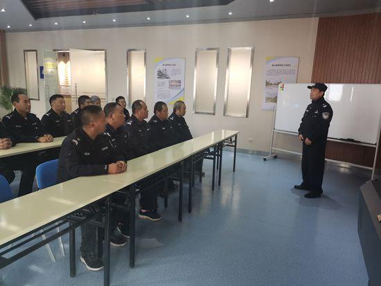 总务处开展安保人员技能培训3