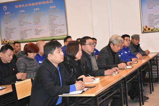 区领导到南韩村进行理论宣讲63