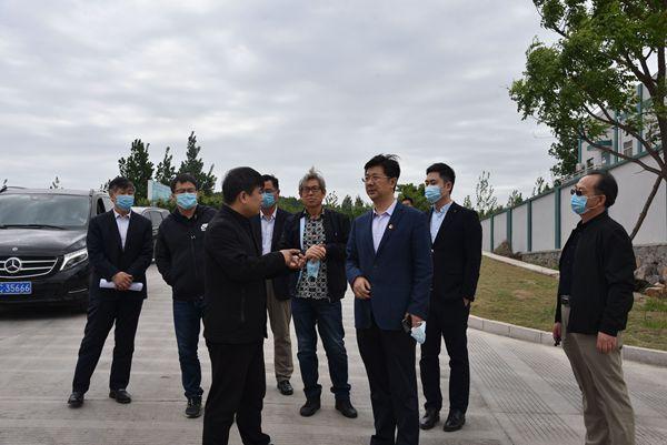 淄川区副区长郭亦华到重山集团调研 61
