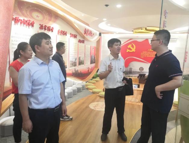 市、区委组织部到集团调研党建工作29
