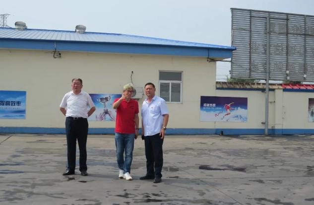 集团发展促进委员会到鲁蒙公司和黄骅三阳公司考察调研83