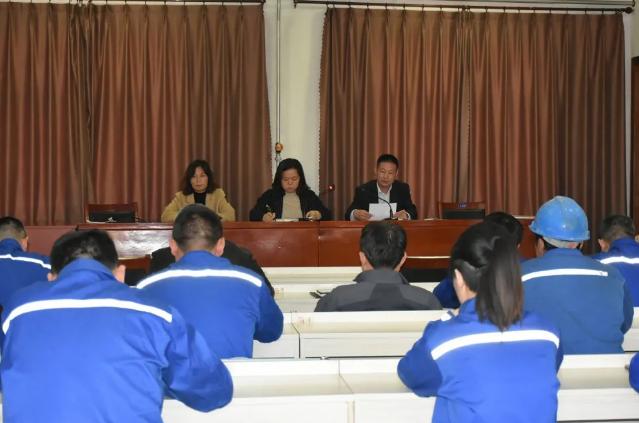 南韩村党支部、南韩化工党支部 召开接收正式党员大会73