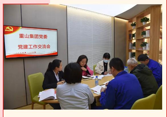 集团党委召开党建工作交流会6