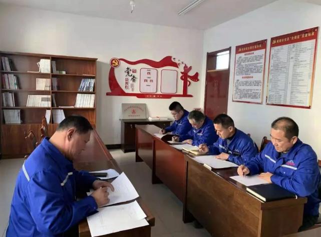 黄骅三阳党支部开展党建活动35